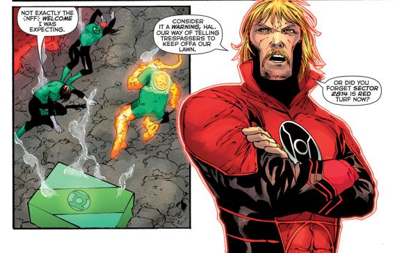 Red Lantern Guy Gardner Cosplay