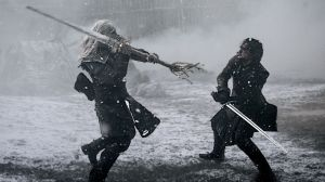 GOT- Jon fights the White Walker